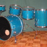 9 Custom Drum Sets!