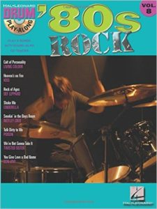 '80s Rock Drum Play Along Volume 8