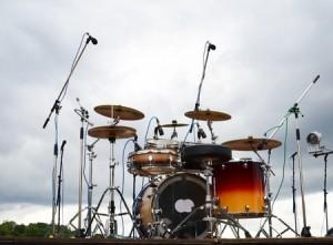 outdoor drum set