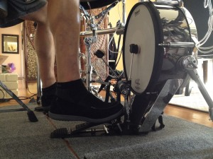 bass drum foot slide