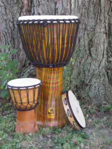 djembe and panteiro