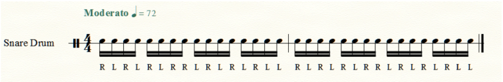 Setting Up Exercises and Drum Beat Notation in Finale! – Drum Tips